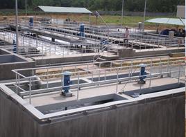 Thi công, lắp đặt và vận hành hệ thống xử lý nước thải Khu Công Nghiệp