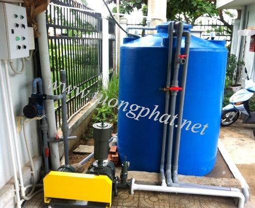 Thi công, lắp đặt và vận hành hệ thống xử lý nước thải Công Ty TNHH New London Việt Nam